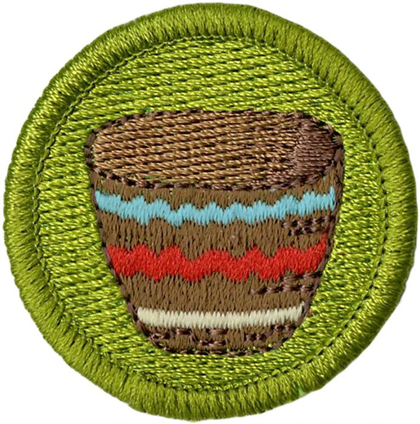 Basket Weaving Badge